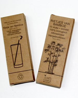 Onze Bamboe rietjes