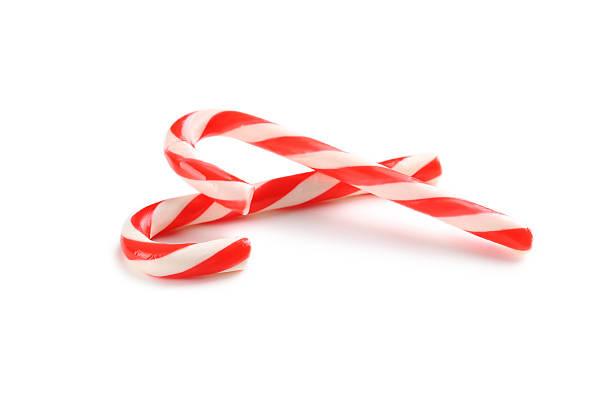 Candy cane Kerst zuurstok ter garnering en om te roeren